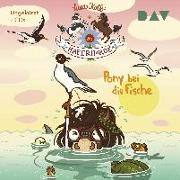 Cover-Bild zu Kolb, Suza: Die Haferhorde - Teil 18: Pony bei die Fische