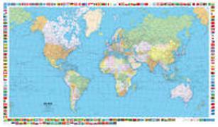 Cover-Bild zu Hallwag Kümmerly+Frey AG (Hrsg.): Welt politisch 1:50 Mio. 1:50'000'000