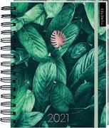 Cover-Bild zu Kalender mit Spiralbindung Pflanzen 2021