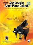 Cover-Bild zu Palmer, Willard A.: Alfred's Self-Teaching Adult Piano Course: The New, Easy and Fun Way to Teach Yourself to Play, Book & Online Video/Audio [With CD (Audio) and DVD]