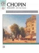 Cover-Bild zu Chopin, Frédéric (Komponist): Chopin -- Ballades: Book & CD