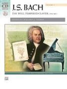 Cover-Bild zu Bach, Johann Sebastian (Komponist): Bach -- The Well-Tempered Clavier, Vol 1: Comb Bound Book