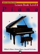 Cover-Bild zu Palmer, Willard A: Alfred'S Basic Piano Library Lesson 4