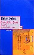 Cover-Bild zu Fried, Erich: Um Klarheit