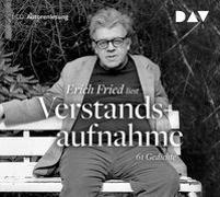 Cover-Bild zu Fried, Erich: Verstandsaufnahme. 61 Gedichte