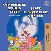 Cover-Bild zu Amo dormire nel mio letto I Love to Sleep in My Own Bed von Admont, Shelley