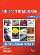 Cover-Bild zu hôtellerie-restauration.com. Livre de l'élève avec DVD-ROM von Corbeau, Sophie