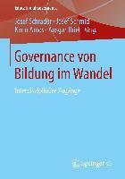 Cover-Bild zu Schrader, Josef (Hrsg.): Governance von Bildung im Wandel