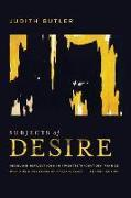 Cover-Bild zu Butler, Judith: Subjects of Desire