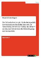 """Cover-Bild zu Wagner, Elisabeth Maria: Die Sicherheitsstrategie / Sicherheitspolitik der Islamischen Republik Iran seit der Benennung ein Teil der """"Achse des Bösen"""" zu sein mit besonderer Berücksichtigung der Atompolitik"""