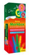 Cover-Bild zu Meine Merkbox. Die Box für eigene Lernkarten. Rot
