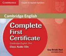 Cover-Bild zu Complete First Certificate for Spanish Speakers. Class Audio CDs von Brook-Hart, Guy
