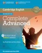 Cover-Bild zu Complete Advanced Student's Book Without Answers with CD-ROM with Testbank von Brook-Hart, Guy