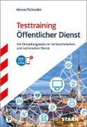 Cover-Bild zu Hesse, Jürgen: Testtraining Öffentlicher Dienst