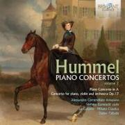 Cover-Bild zu Hummel Piano Concertos Vol.2 / Klavierkonzerte Vol.2 von Hummel, Johann Nepomuk (Komponist)