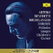 Cover-Bild zu Debussy / Michelangeli: Préludes, Images, Children's Corner von Debussy, Claude (Komponist)