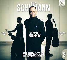 Cover-Bild zu Klavierkonzert & Klaviertrio Nr. 2, op. 80. CD + DVD von Schumann, Robert (Komponist)