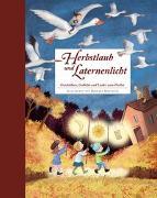 Cover-Bild zu Herbstlaub und Laternenlicht von Korthues, Barbara (Illustr.)
