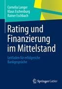 Cover-Bild zu Langer, Cornelia: Rating und Finanzierung im Mittelstand