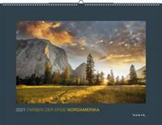 Cover-Bild zu Farben der Erde Nordamerika 2021 von KUNTH Verlag (Hrsg.)