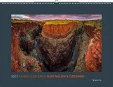 Cover-Bild zu Farben der Erde Australien & Ozeanien 2021 von KUNTH Verlag (Hrsg.)