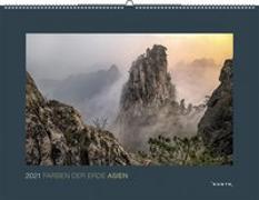Cover-Bild zu Farben der Erde Asien 2021 von KUNTH Verlag (Hrsg.)