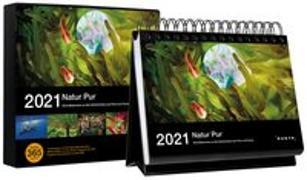 Cover-Bild zu Tischkalender Natur pur 2021 von KUNTH Verlag (Hrsg.)