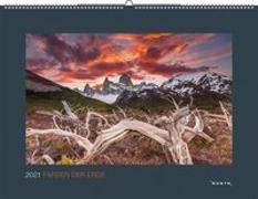 Cover-Bild zu Farben der Erde 2021 von KUNTH Verlag (Hrsg.)