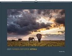 Cover-Bild zu Farben der Erde Afrika 2021 von KUNTH Verlag (Hrsg.)