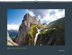 Cover-Bild zu Wildnis Alpen 2021 von KUNTH Verlag (Hrsg.)