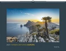 Cover-Bild zu Farben der Erde Europa 2021 von KUNTH Verlag (Hrsg.)