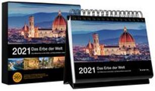 Cover-Bild zu Tischkalender Das Erbe der Welt 2021 von KUNTH Verlag (Hrsg.)