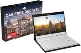 Cover-Bild zu Das Erbe der Welt Tischkalender 2021 von KUNTH Verlag (Hrsg.)