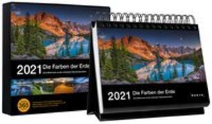 Cover-Bild zu Tischkalender Die Farben der Erde 2021 von KUNTH Verlag (Hrsg.)