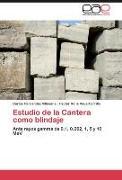 Cover-Bild zu Estudio de la Cantera como blindaje von Hernández Villasana, Carlos