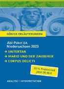 Cover-Bild zu Mann, Heinrich: Abi-Paket EA Niedersachsen 2023