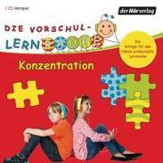 Cover-Bild zu Zorn, Swantje: Die Vorschul-Lernraupe: Konzentration