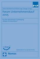 Cover-Bild zu Birk, Dieter (Hrsg.): Forum Unternehmenskauf 2005
