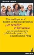 """Cover-Bild zu Hegemann, Thomas (Hrsg.): """"Ich schaffs!"""" in der Schule"""