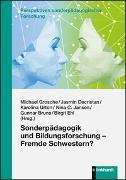 Cover-Bild zu Grosche, Michael (Hrsg.): Sonderpädagogik und Bildungsforschung - Fremde Schwestern?