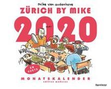 Cover-Bild zu Zürich by Mike Kalender 2020 von Van Audenhove, Mike