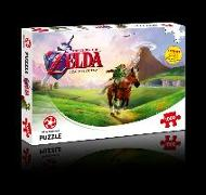 Cover-Bild zu The Legend of Zelda Ocarina of Time. Puzzle