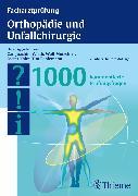 Cover-Bild zu Facharztprüfung Orthopädie und Unfallchirurgie (eBook) von Wirth, Carl Joachim (Hrsg.)