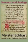 Cover-Bild zu Eckhart, Meister: Sermons and Sayings