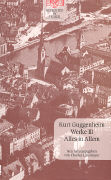 Cover-Bild zu Guggenheim, Kurt: Werke