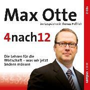 Cover-Bild zu 4 nach 12 (Audio Download) von Otte, Max