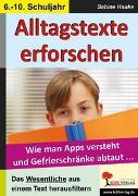 Cover-Bild zu Alltagstexte erforschen (eBook) von Hauke, Sabine