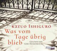 Cover-Bild zu Ishiguro, Kazuo: Was vom Tage übrig blieb