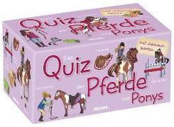 Cover-Bild zu Das Quiz der Pferde und Ponys