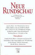Cover-Bild zu Heft 2: Neue Rundschau 2000/2 - Neue Rundschau Ausgabe 2000